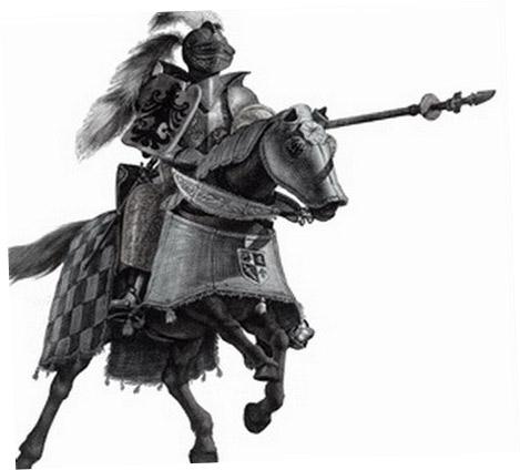 рыцарь средневековья картинки